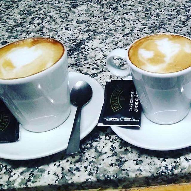 Cafés servidos con cariño...